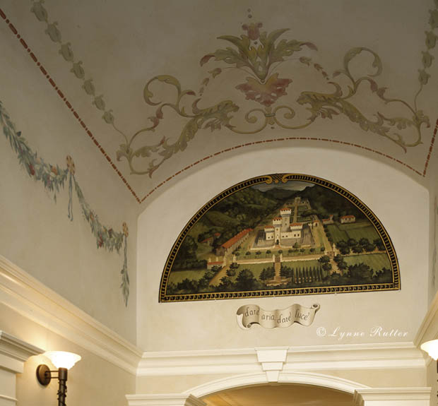 ceilings with mural art - photo #23