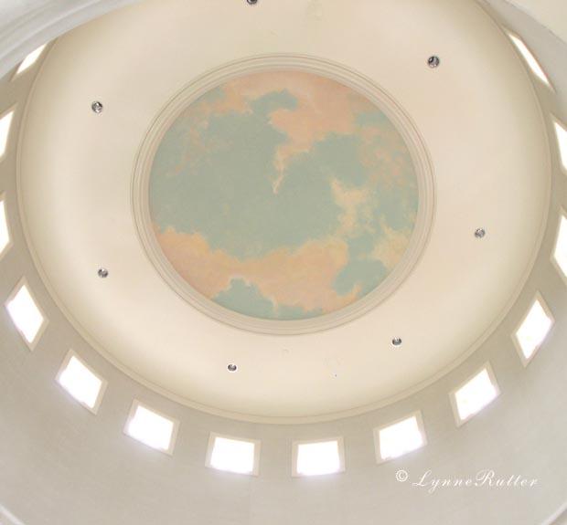 Lynne rutter studio ceilings cloud ceiling murals for Cloud ceiling mural
