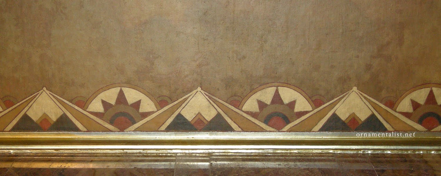 The ornamentalist chrysler ceiling mural a quick look for Chrysler building ceiling mural